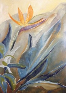 Alessandra Ferrari, óleo sobre tela, 50 x 70cm.