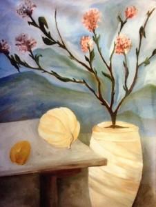 Alessandra Ferrari, óleo sobre tela, 70 x 90cm.