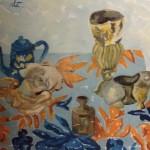 Alessandra Ferrari, óleo sobre tela, 30 x 40cm.